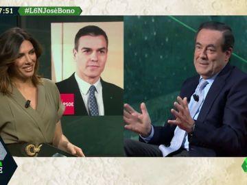 """José Bono: """"El Gobierno de coalición goza de una magnífica salud, están en una luna de miel"""""""
