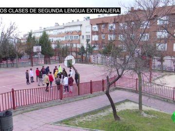 Imagen de un instituto público de la Comunidad de Madrid.