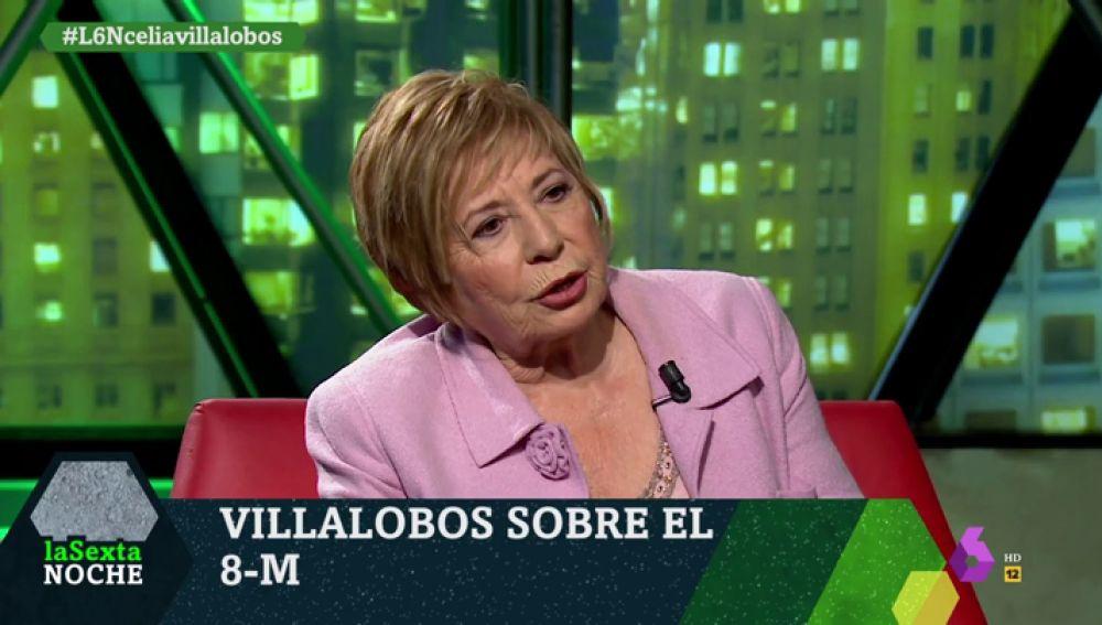 """Villalobos: """"Le digo a los hombres que el día que lloren se darán cuenta de lo que se han perdido"""""""