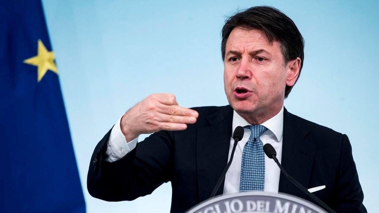 Imagen de archivo del presidente del Gobierno italiano, Giuseppe Conte