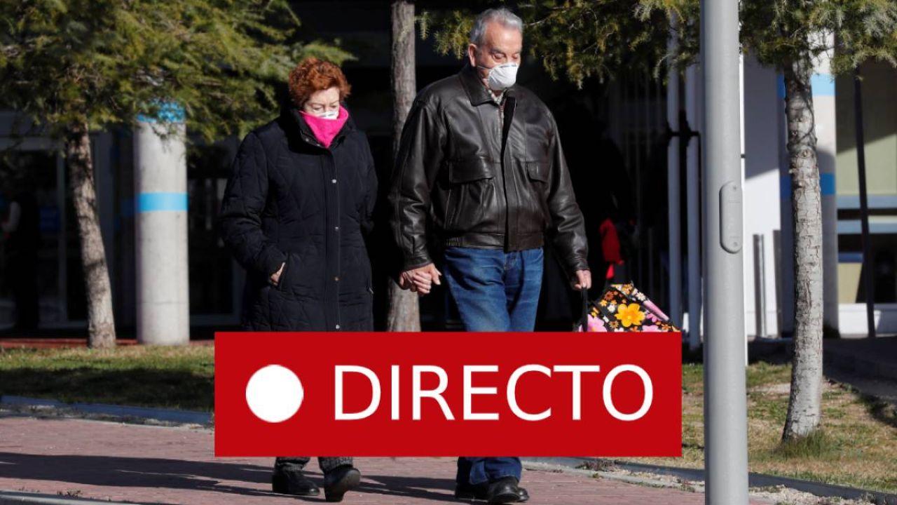 Coronavirus en España: última hora de los casos de COVID-19 en directo