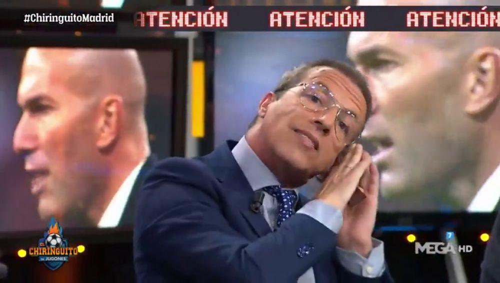 Cristóbal Soria se venga de Roncero, Juanma Rodríguez y Edu Aguirre una semana después...Ojo al mensaje