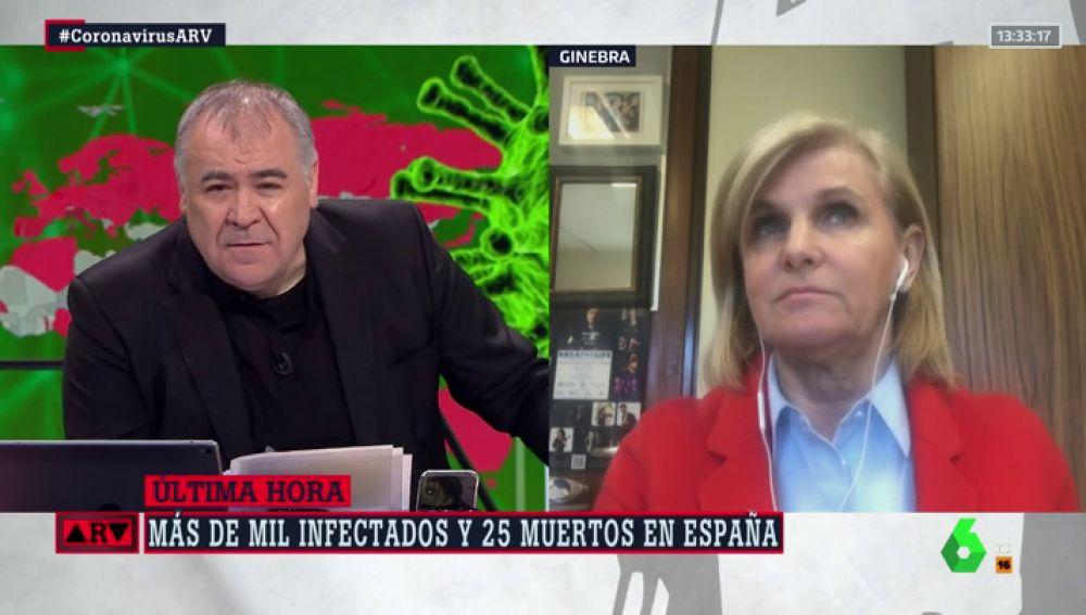 """María Neira, sobre el coronavirus en España: """"Va a haber más casos"""""""