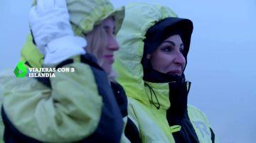 """Ana Milán, emocionada en Islandia: """"El cielo debe ser algo parecido a esto"""""""