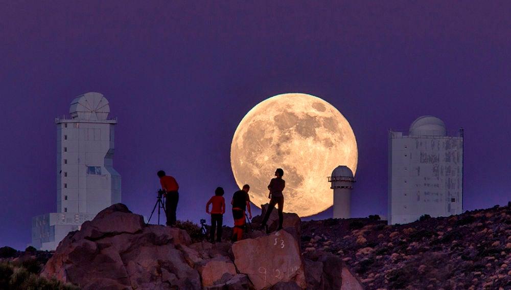 La superluna de marzo despide el invierno