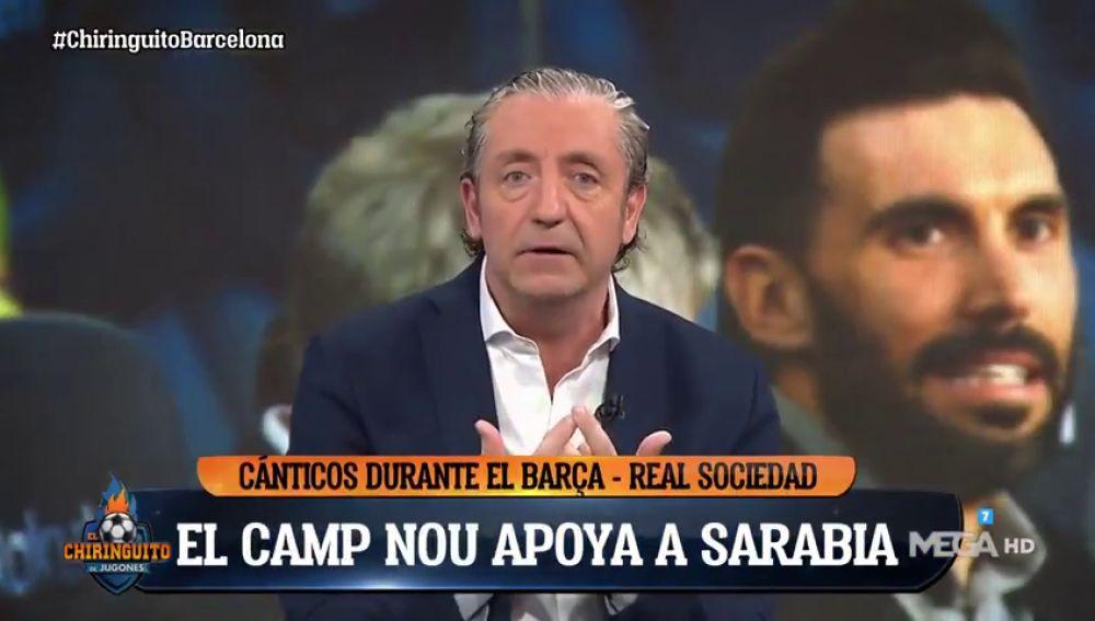 """Pedrerol habla claro en 'El Chiringuito': """"Zidane no mueve nada, qué aburrimiento...¡Viva Eder Sarabia!"""""""