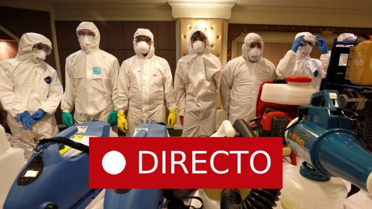 Coronavirus: Madrid, Vitoria, Haro, Murcia, Valencia y Coruña en directo