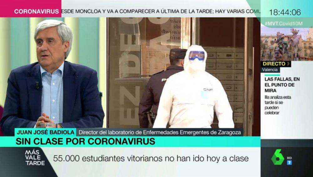 """Badiola: """"El pico máximo de contagios por coronavirus en España podría estar la primera quincena de abril"""""""
