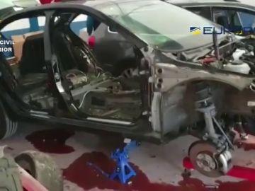 La Guardia Civil detiene a 32 miembros de una organización criminal dedicada al robo de coches