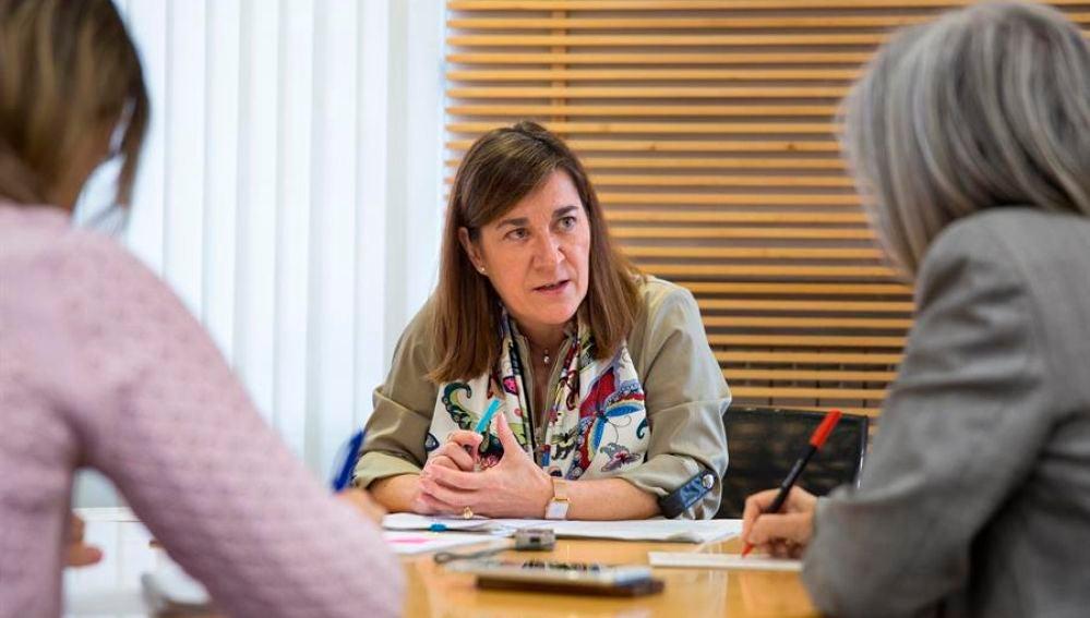 La consejera de Salud del Gobierno de La Rioja, Sara Alba