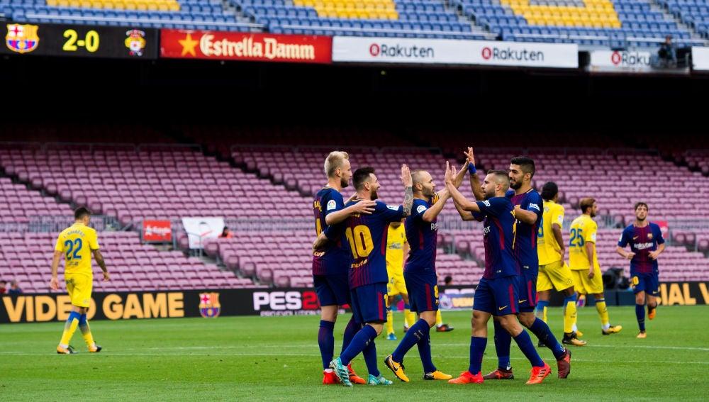 Barcelona-Las Palmas de 2017
