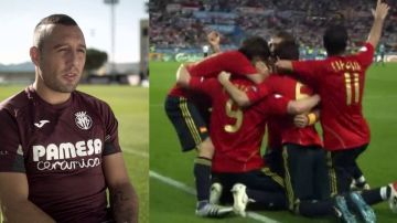 Santi Cazorla comenta como vivió la Eurocopa 2008