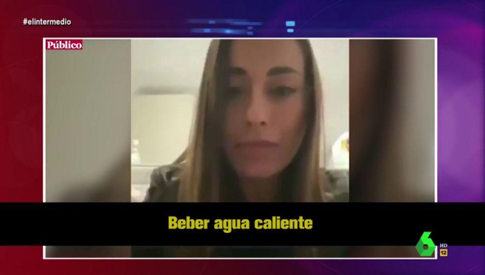 """El """"ridículo"""" bulo de la influencer y """"eminencia médica"""" Paula Gonu para evitar el coronavirus deja alucinado a Dani Mateo"""