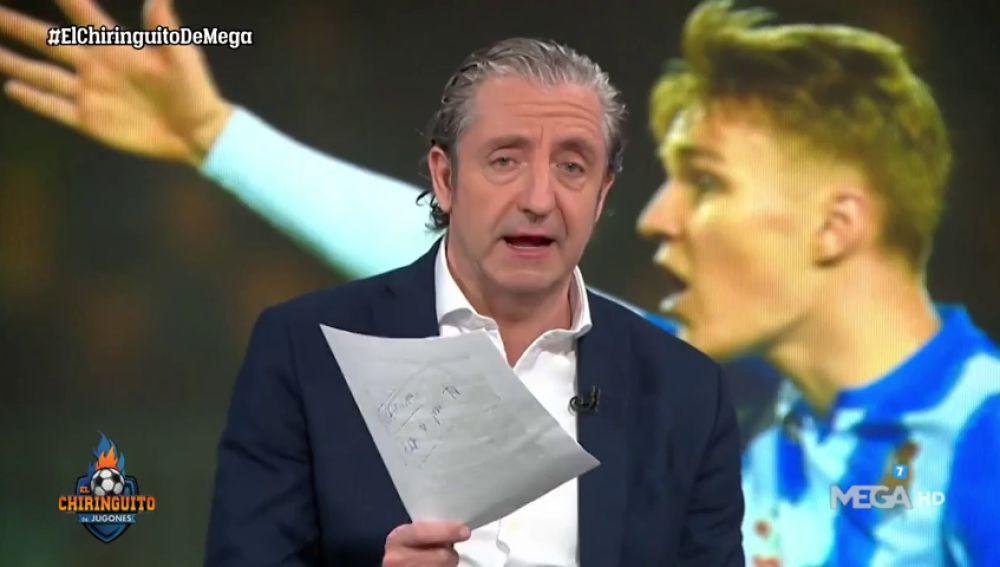"""Josep Pedrerol habla claro: """"Los jugadores deben plantarse y decir que no juegan"""""""