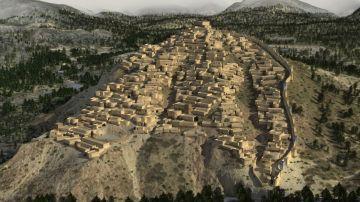 Asi se desarrollo una de las primeras ciudades de Europa en la Edad de Bronce