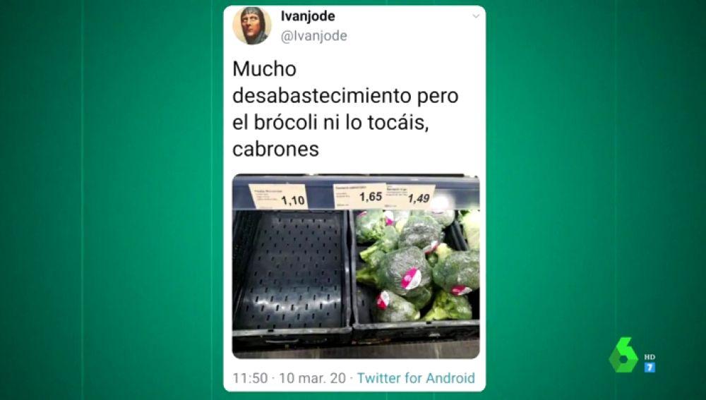 'Arrasan' los supermercados por el coronavirus y España se 'cachondea' en Twitter: estos son los mejores memes