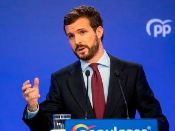 Pablo Casado, líder del Partido Popular