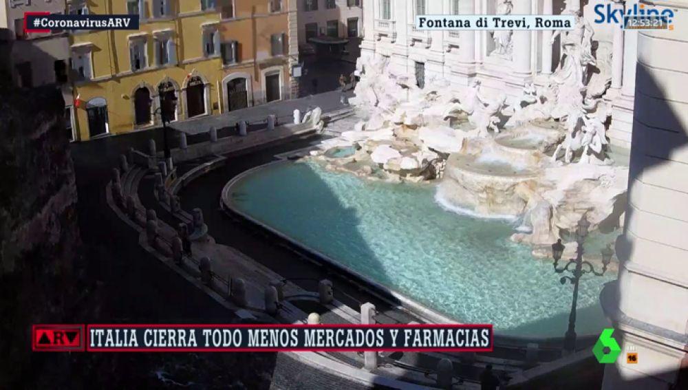 El Coliseo, el Duomo... impactantes imágenes de monumentos desiertos por el coronavirus en Italia