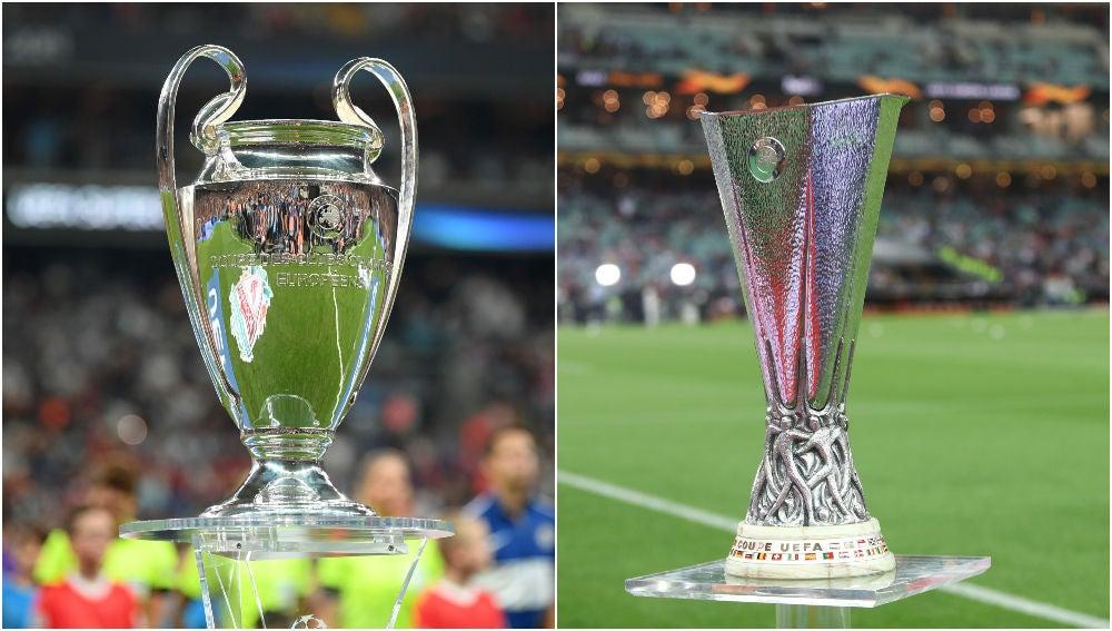 Champions League y Europa League