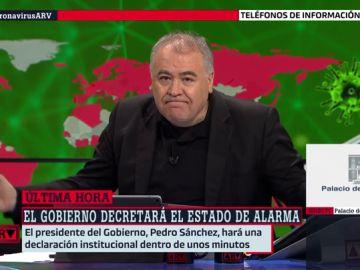 El mensaje de Ferreras a los medios que criticaban la cobertura del coronavirus en televisión