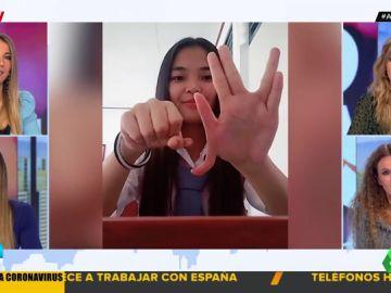 dedos pulgares