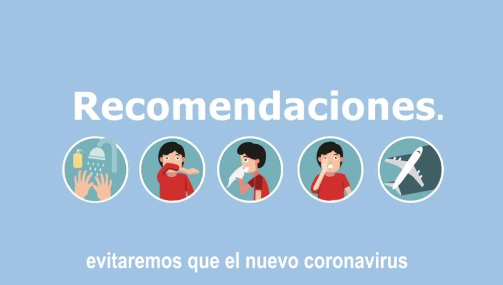 Estas son las recomendaciones del Gobierno frente al coronavirus