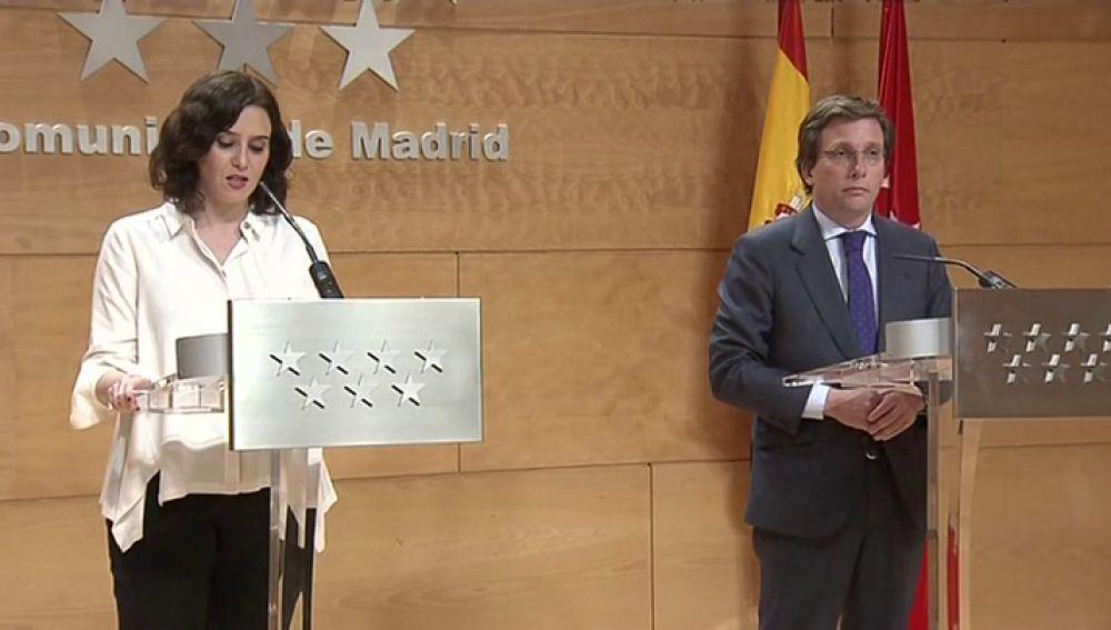 Madrid cierra todos los comercios, menos supermercados y farmacias