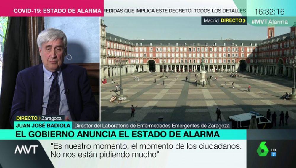 Juan José Badiola, en Más Vale Tarde