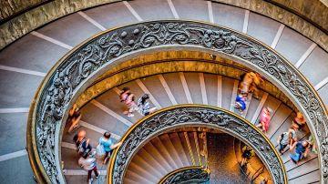 Escalinata del Vaticano