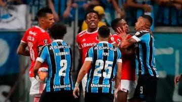 Tangana en el Gremio-Inter