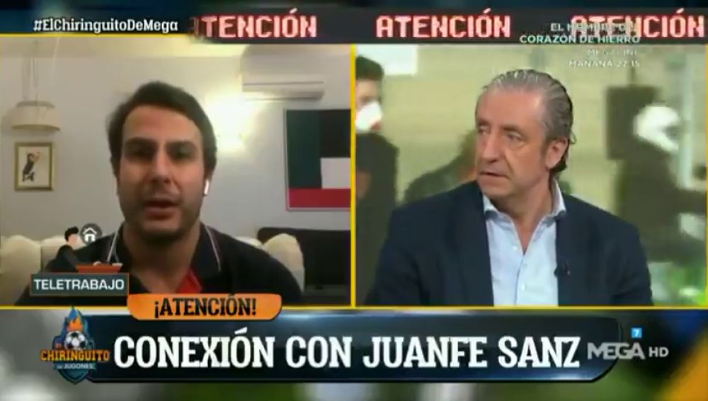 """¿Es el fin de la temporada?: Juanfe Sanz afirma que es """"viable"""""""