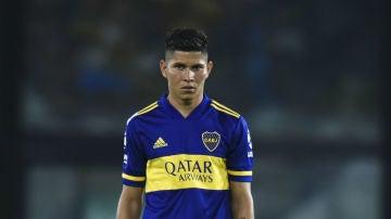Jordan Campuzano, jugador de Boca