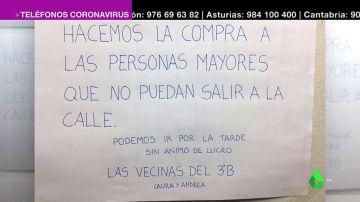 Solidaridad como 'vacuna' contra la crisis del coronavirus: así nos ayudamos mutuamente los españoles para salir adelante