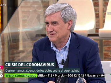 El director del Centro de Enfermedades Transmisibles Emergentes, Juan José Badiola