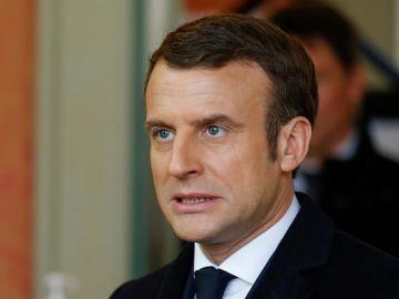 Imagen de archivo del presidente de Francia, Emmanuel Macron