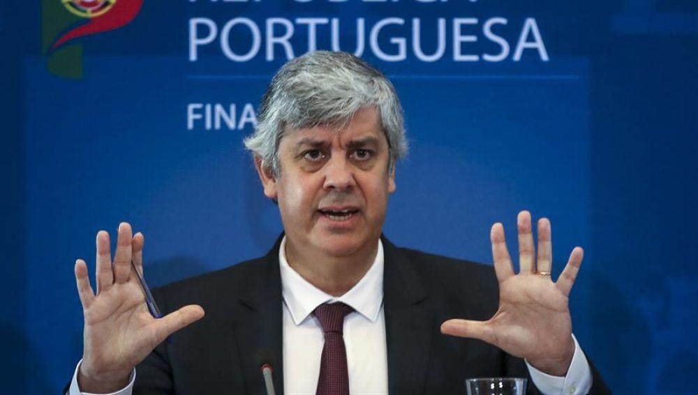 El presidente del Eurogrupo, Mario Centeno