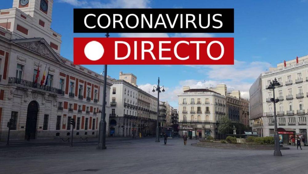 Coronavirus en España | Última hora: estado de alarma y nuevos casos, EN DIRECTO