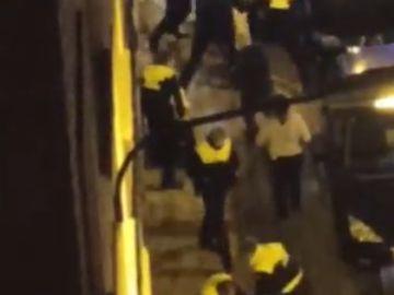 Cinco detenidos por desacato a la autoridad en Zaragoza