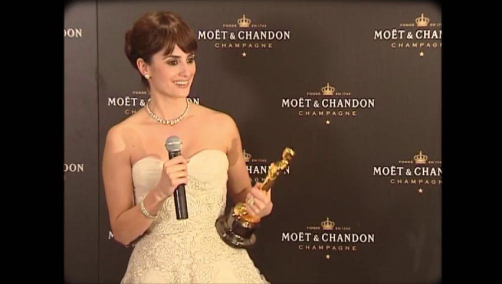 Penélope Cruz, o cómo hacer historia al ser la primera actriz española en ganar un Oscar