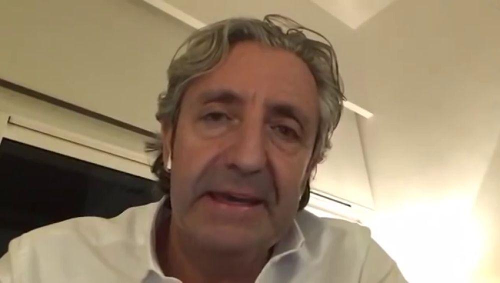 """La emotiva reflexión de Josep Pedrerol sobre el coronavirus: """"Tengo ganas de abrazaros"""""""