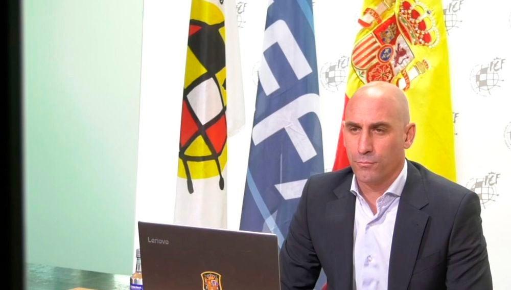 El presidente de la RFEF, Luis Rubiales
