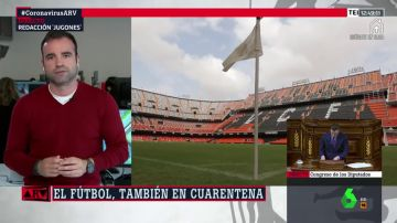 Las fechas que plantea Javier Tebas para reanudar LaLiga