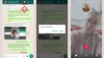 Así se hace una videollamada de WhatsApp paso a paso