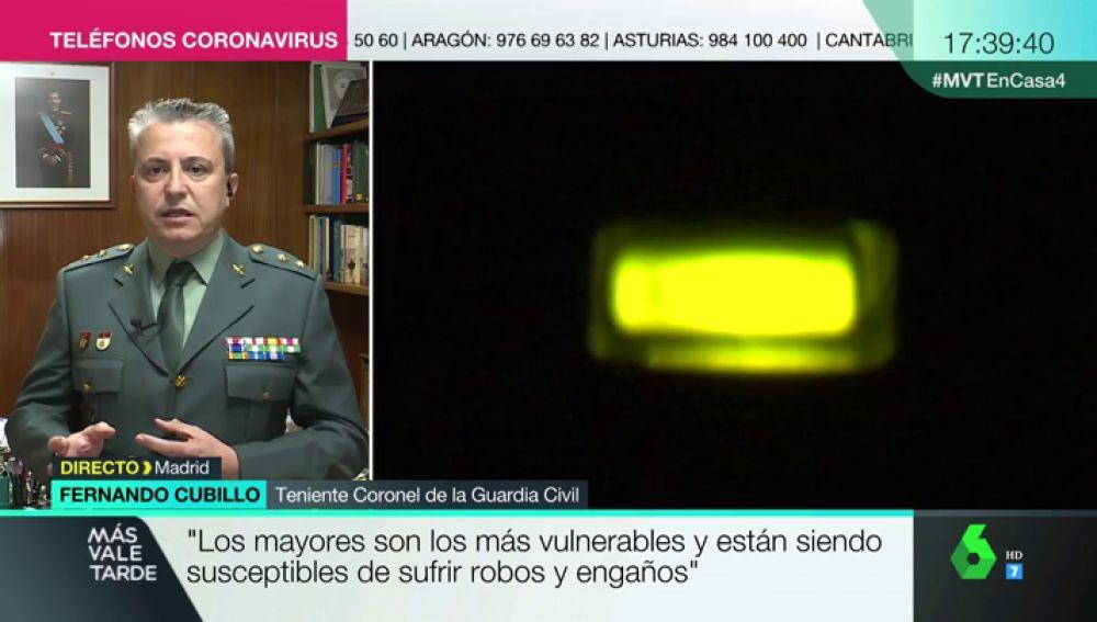 Fernando Cubillo, teniente coronel de la Guardia Civil