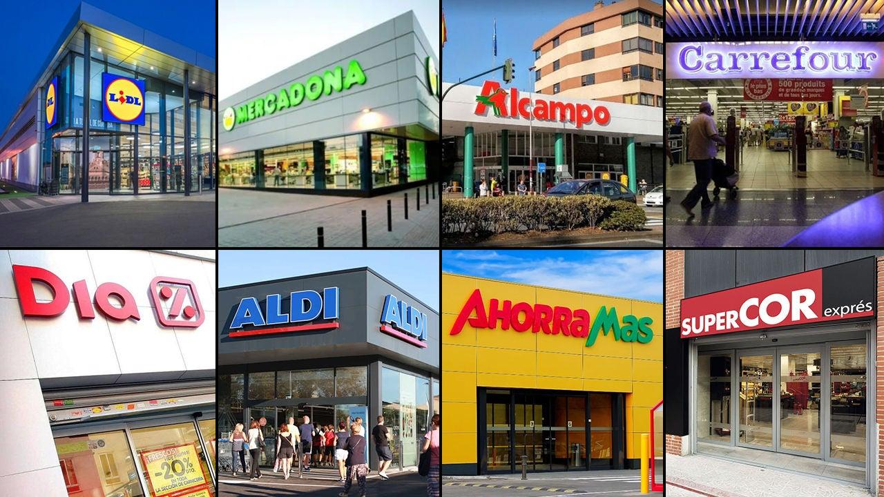 Horarios de los supermercados durante el puente de mayo: Mercadona,  Alcampo, Carrefour o Lidl