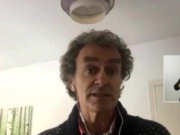 """Fernando Simón señala que """"el foco se encuentra en los hospitales"""""""