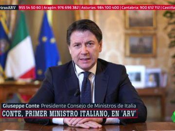 Giuseppe Conte en ARV