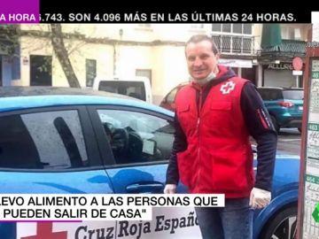 El gesto más solidario del exboxeador Javi Castillejo