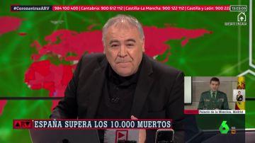 Antonio García Ferreras, en Al Rojo Vivo