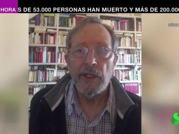 Luis Picazo, un hombre curado de coronavirus con un solo pulmón